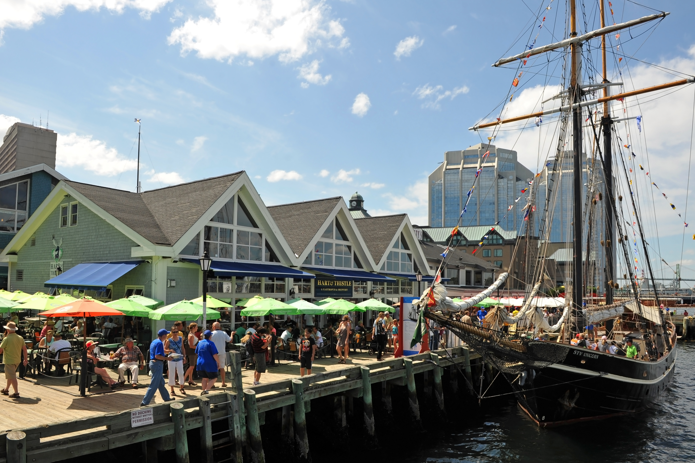 Halifax we all know about the harbour here the tall ships and the